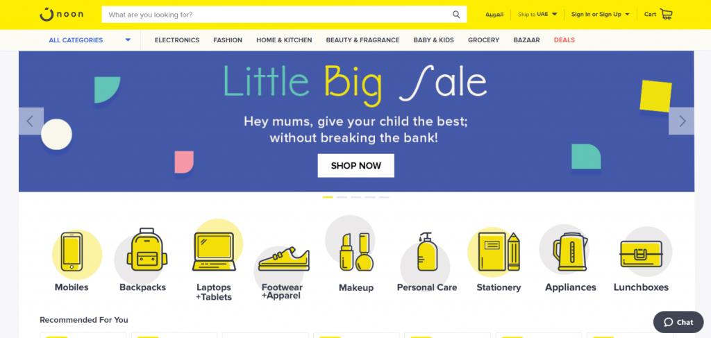 Ksa shopping noon online